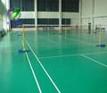 Riduzione del rumore anti- antiscivolo materiale pvc indoor campi da badminton pavimenti