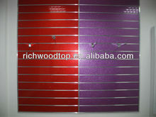 19mm arylic slatwall MDF Board