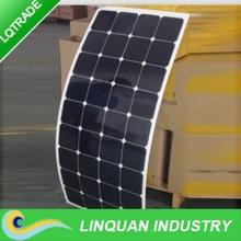 75W Sunpower monocrystalline silicon Flexible Solar Panel