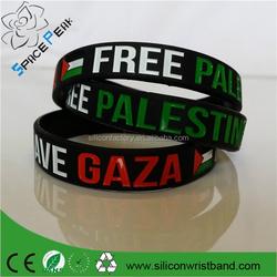 Syria flag bracelet/wristband/Bangle silicone rubber bands