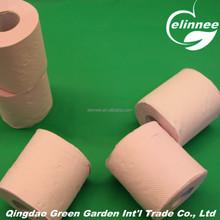 Hot Sale Sanitary Paper Pink Toilet Paper