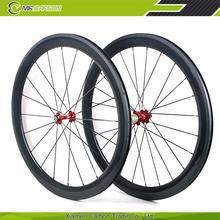 100% hand bulilt 60mm carbon cycle wheels for 700c road bike race wheels