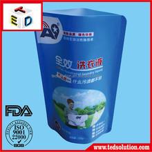 Hot sale plastic printed clear stand up bag OEM manufacturer