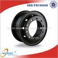Bordes de la rueda de acero de 24 pulgadas