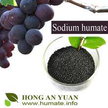 basal fertilizer sodium humate used as seed dressing,seed soaking,