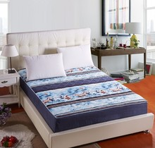 Soft colorful Cotton Cheap fitted bed sheets