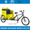 factory directly OEM 26 inch three wheel rickshaw tricycle / steel cycle rickshaw / cargo tricycle with cabin for sale