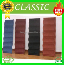 hot sale galvanized colorful sand coated metal roofing tiles