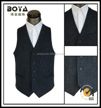 2014 fashion T/R vests for men military waistcoats