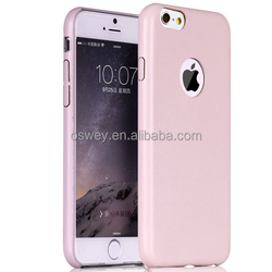 Luxury Ultra Thin PU Leather Back Case For iPhone 4 4S 5 5S 6 6Plus