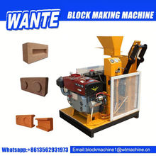 WT1-25 Low Investment Interlocking Brick Making Machine for Sale