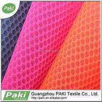 Hexagonal 3d Spacer Polyester Fabric Mesh