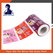 Aluminum automatic food packaging roll film