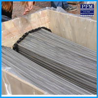 stainless steel roller chain wire mesh belt