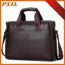 Fashion New Leather Laptop Briefcase Handbag Case Mens Leather Bags For 2015