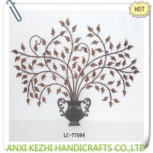 vintage tree metal wall decoration