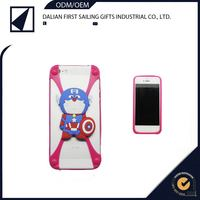 Best selling flip cell phone accessory for iphone 5 case silicon material