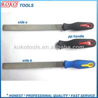 """8"""" Plastic handle plumbers aluminium rasps milled teeth steel files"""