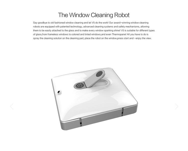 VTVROBOT 자기 내부 야외 높은 높이 창 청소 로봇 청소기 도구, 자동 ...