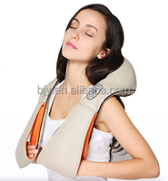 health care heating lower back pain relief car home Dual-use massager kneading neck shoulder massager