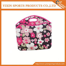 flower print neoprene laptop sleeve