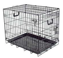Dog Cage Folding Metal Wire Dog Crate