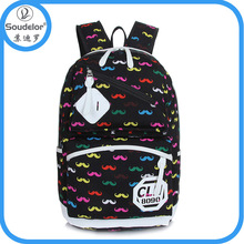 Fashion canvas 2014 fashion trend backpack for students