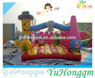 Cartoon temático bouncy castelo 0.55mm ar pvc bouncer melhor venda de casa de salto inflável para casa e shopping center
