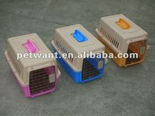 48.4x31.8x30 CM sized plastic folding dog kennel FC-1001 for pet travelling