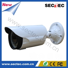 Outdoor CE certificated 2.8-12mm very good image IP66 AHD Camera with42pcs IR LEDs