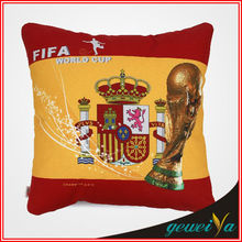 Cotton Football Printing Pattern Cheap Cushion Cover