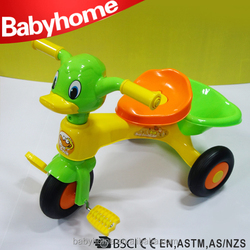 baby tricycle with hand push in ZheJiang China