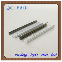 Galvanized wall metal stud light steel framing for drywall ceiling