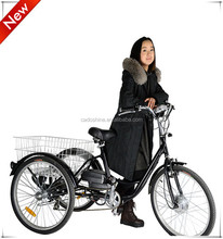 New product 3 wheel electric bicycle made in china