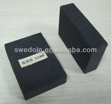 aluminum oxide black abrasive polishing sponge block