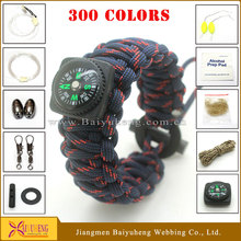 Wholesale fashion Style Survival Bracelet