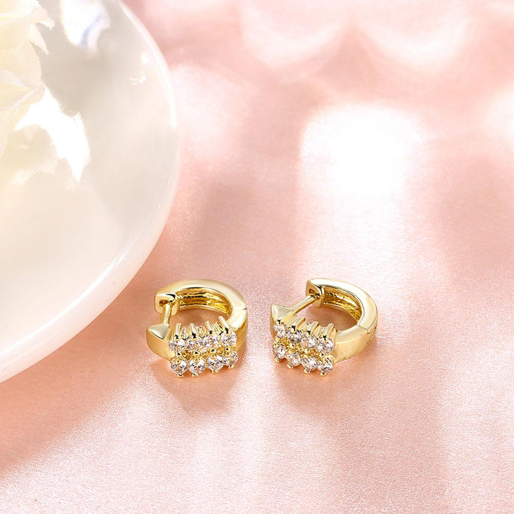 New 2017 Latest Saudi Gold Earring Designs For Women Hoop Jewelry ...