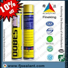 expansion PU polyurethane foam adhesive sealant