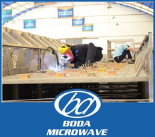 Industrial wheat microwave dryer/sterilizer/grain drying machine
