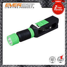 1 watt led flexible clip pocket flashlight with clip torch