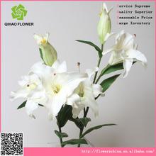 Hacer artificial lirio de los arreglos de flores, artificial de pascua aromáticas flores de lirio