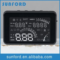 Head-up display MILES STANDARD FOR SPEED hud gps hud