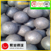High quality high hardness 120mm forged grinding mill balls for ball mill in mines