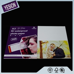 2015 Yesion High Quailty Satin Inkjet RC Photo Paper, Wholesale RC Photo Paper Factory-direct Supply