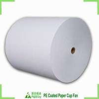 China hot sell disposable single sided PE coated greaseproof paper in roll