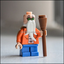 newest design plastic action figure, custom made soft pvc action figure with white beard, custom made soft pvc action figure