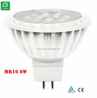 wireless led spotlight volt 6 watt led light bulbs MR16 GU5.3 led manufactures in china
