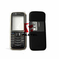 For Nokia 6233 New Full Complete Mobile Phone Housing Cover Case + English / Arabic / Russian Keypad