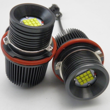 New Arrival Powerful 12PCS XBD Chip 6000K White Canbus 60W LED Angel Eyes Light For BMW E39 E63 E60 E61