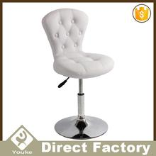 New pu loop leg dining room furniture luxury furniture used round banquet tables for sale bar stool